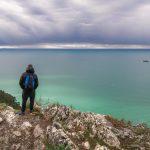 La Spezia d'inverno - Monte marcello e Ameglia