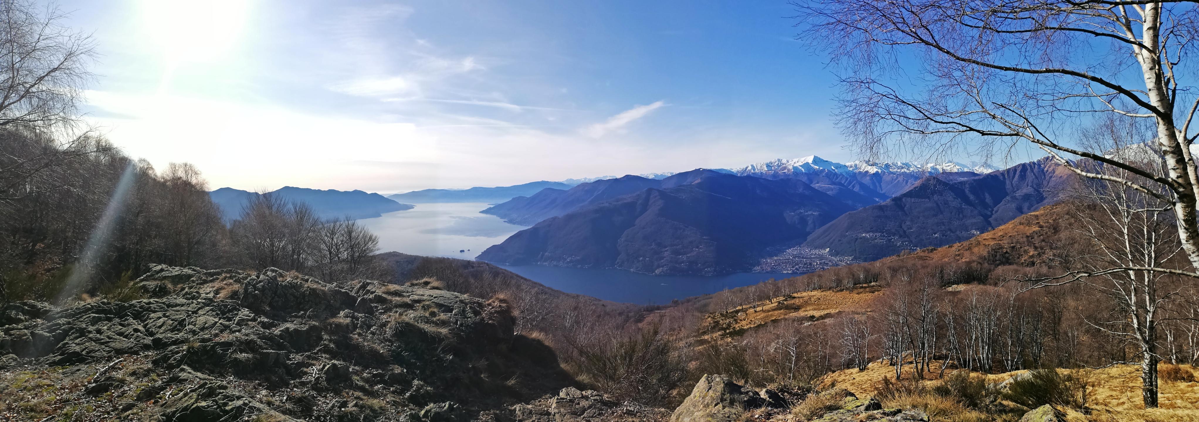 Lago Maggiore escursioni dal passo Forcora al Monte Covreto Alpi